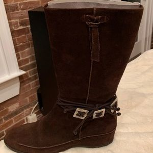 Aquatalia suede boot